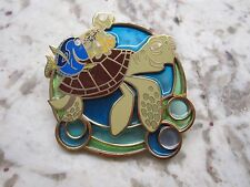 Disney pin Finding Nemo Turtle Ride Crush Squirt Dory Marlin Stained Glass