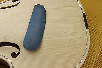 2 pcs mini different thickness scraper Violin/Cello making tools scraping cutter