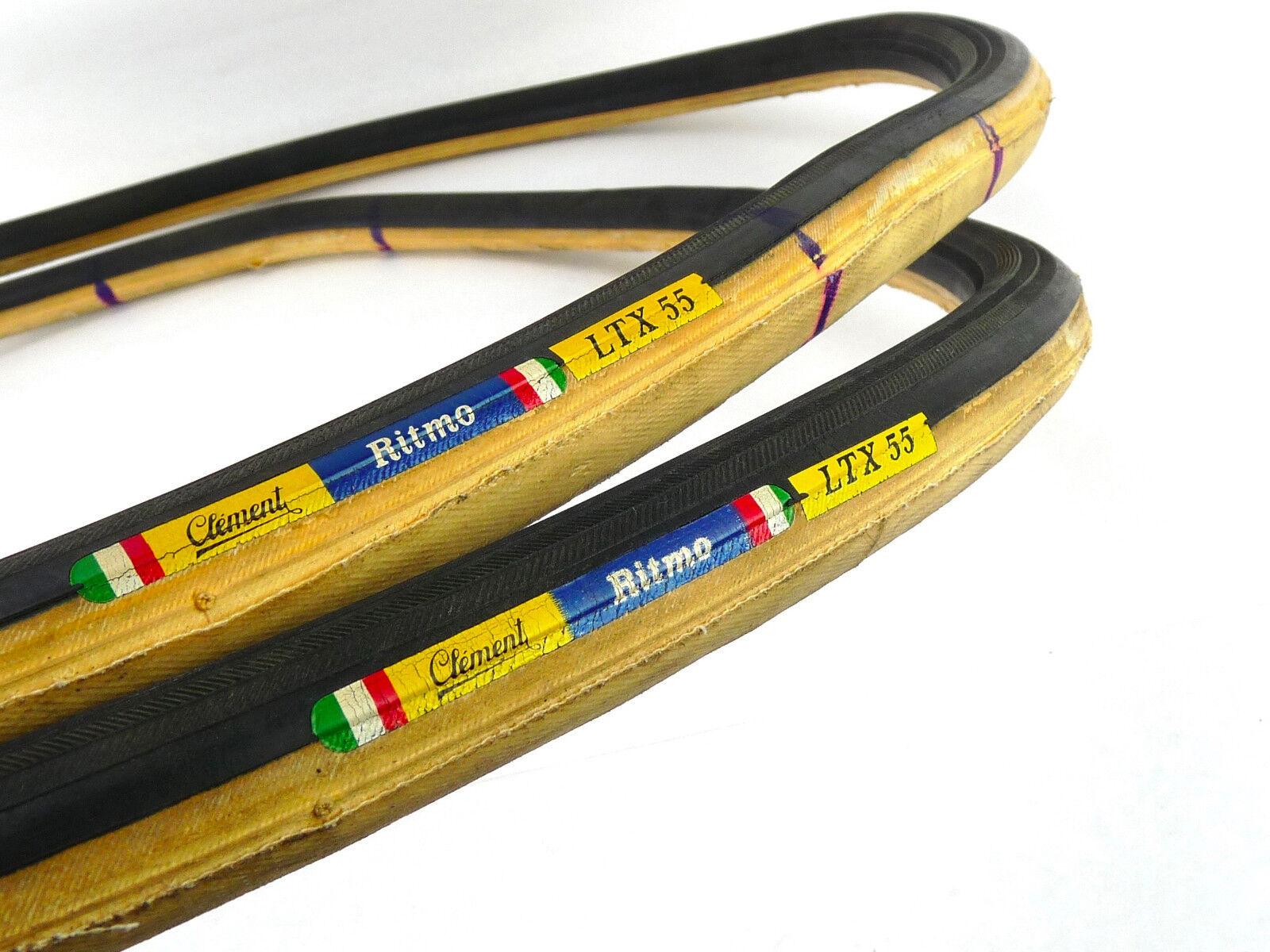 Clement tubular tire set Ritmo LTX 55 tires 27  tyres 700c Vintage Bike NOS