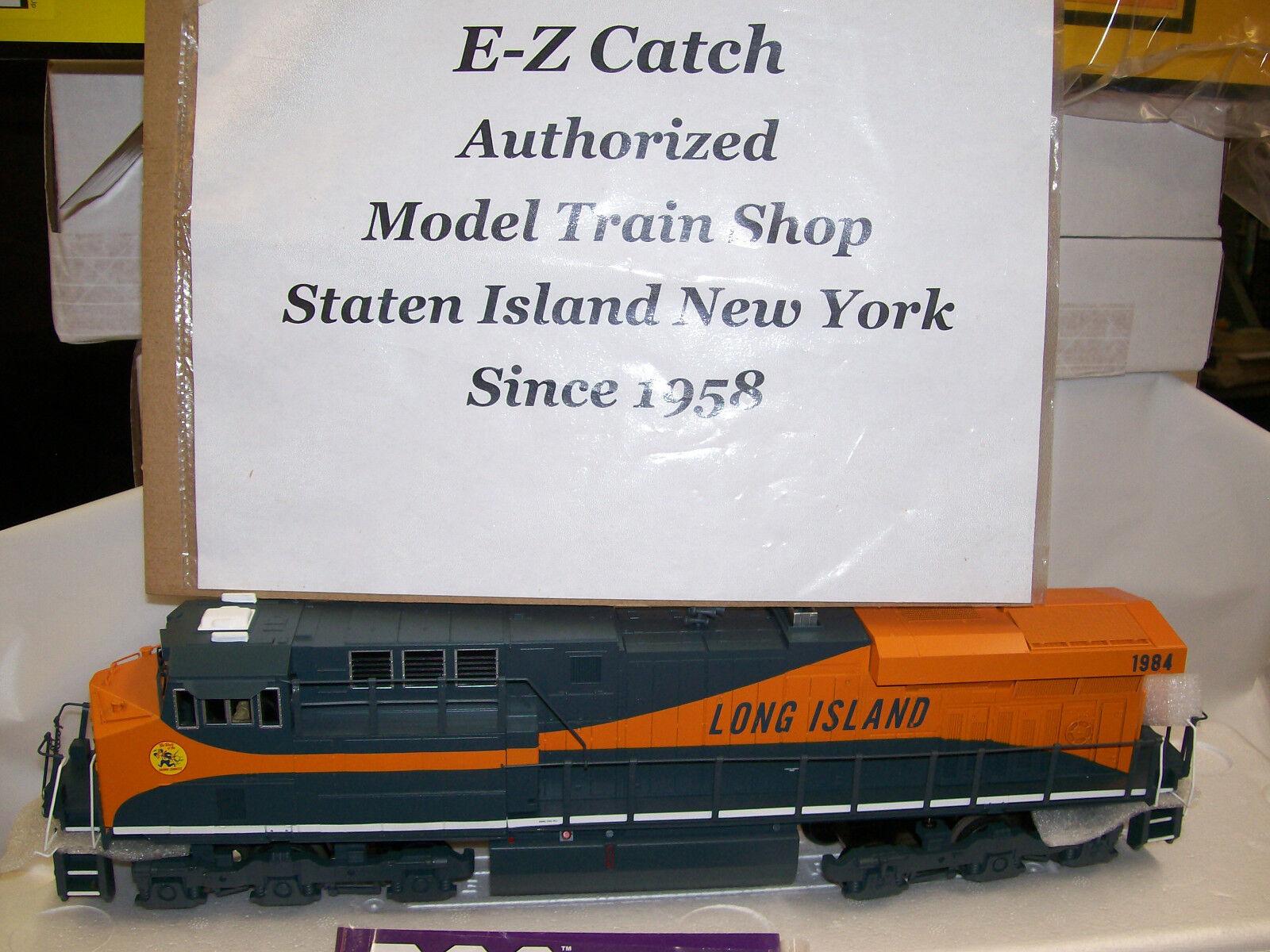 Long Island ES44-AC MTH Imperial Diesel Locomotive O O O Gauge Cab New PS 3.0 151860