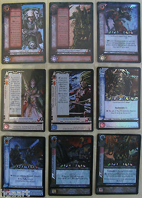 WH40k Dark Millennium Warhammer 40K CCG Base Set Ultra Rare Cards