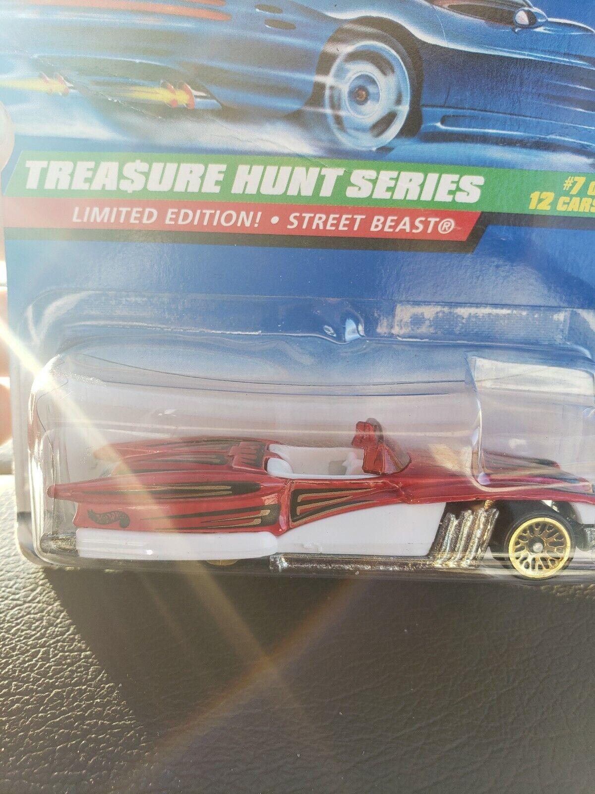 heta hjul Treasure Hunt Series Street Beast begränsad Edition