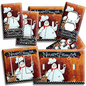 Decorative Decoupage Light Switch Covers The Italian Chef Made to Order