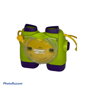 View-Master-Binoculars-3-D-Viewer-Discovery-Kids-Green-Purple-1998-EUC-C0