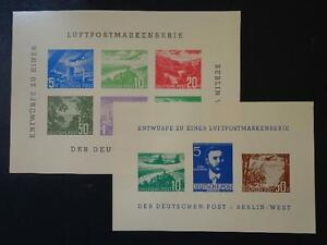 Berlin stamps 1957 BEPHILA StampExhibition AIRMAIL Proof -SPECIMEN SheetS MNH - Oirschot, Nederland - Berlin stamps 1957 BEPHILA StampExhibition AIRMAIL Proof -SPECIMEN SheetS MNH I always combine postage, no matter how many notes or items you purchase. Remember when buying more than one item, to wait for a modified invoice. So any e - Oirschot, Nederland