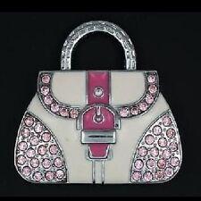 USB Stick 4 GB Handtasche Handbag Bag Tasche pink rosa Strass Schmuck Anhänger