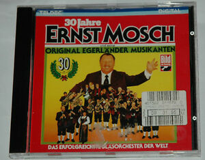 CD-30-JAHRE-ERNST-MOSCH-ORIGINAL-EGERLANDER-MUSIKANTEN-Teldec-8-26300