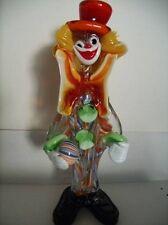 Murano Glass Clown - Collector's Item!