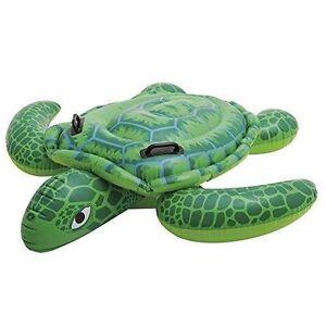 Pool Schwimmtier Schildkröte Planschbecken Reittier Kinderbadespaß