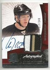 10-11 Nick Johnson The Cup Auto Rookie Card RC #135 Sweet Jersey Patch 117/249