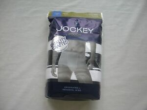 Men-039-s-Jockey-Pouch-3-Pack-Briefs-Size-M-L-XL-Black