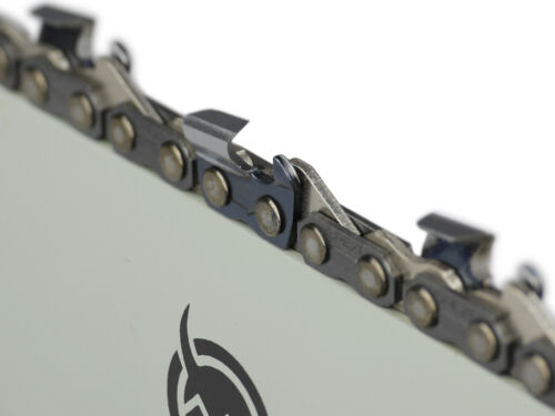 """Schwert 2 Ketten passend für Partner P4700 40 cm 325/"""" 66 TG 1,3 mm Sägekette"""
