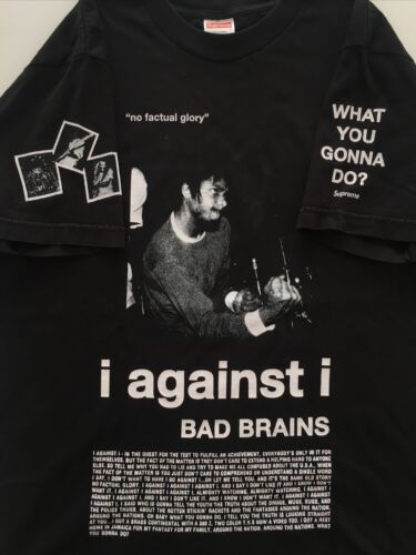 Vtg Supreme Bad Brains Shirt 2008 NYHC