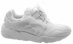 NEW-Men-s-Sneakers-PUMA-DISC-BLAZE-UPDATED-CORE-SPEC-White-Size-9