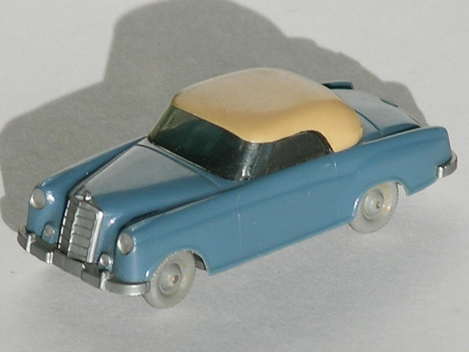 Mercedes Benz MB 220 S Coupé Matt gris azul beige sin gancho GK 144 2 Wiking