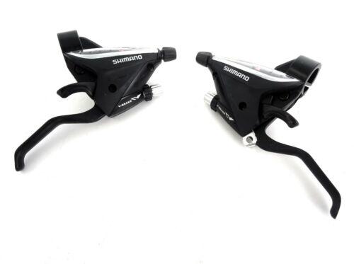 SHIMANO ST-EF65 V BRAKE LEVER TRIGGER SHIFTER COMBO 3 X 9 HYBRID BIKE BICYCLE