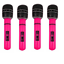 Inflatable-Microphone-Giant-80s-40cm-Blow-Up-Neon-Disco-Karaoke-Party-Mic-X99115 thumbnail 6