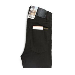 ravenblack Tilde 112809 Nudie Hightop Jeans nero Grande sottile dimensione alta 7qxaOx6