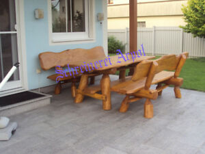 Gartenmobel Massivholz Terrassenmobel Sitzgarnitur Sitzgruppe