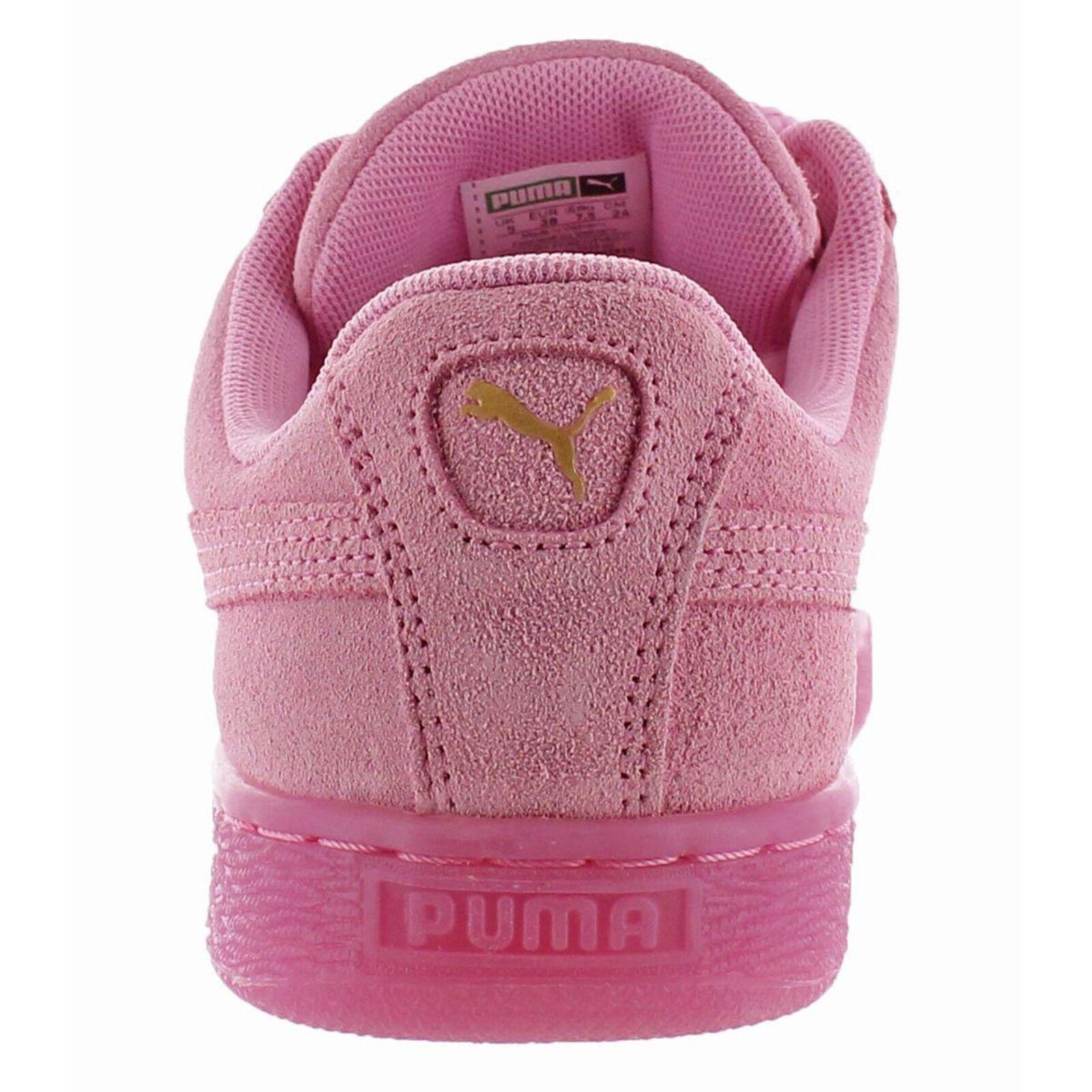 NEU PUMA Damen Wildleder Leder Rosa Bogen 95 Fashion Sneaker Turnschue 38,5 95 Bogen b67c3c