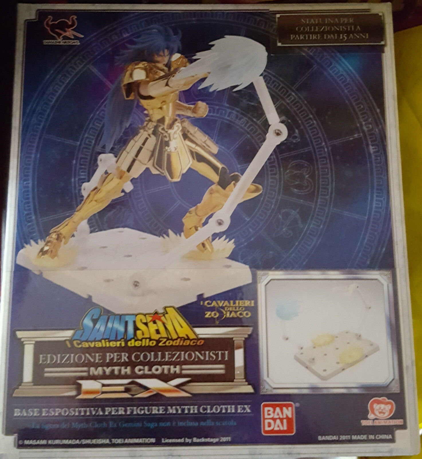 Saint Seiya - Myth Cloth EX Gemini Saga Display Display Display Stage 9cdf26