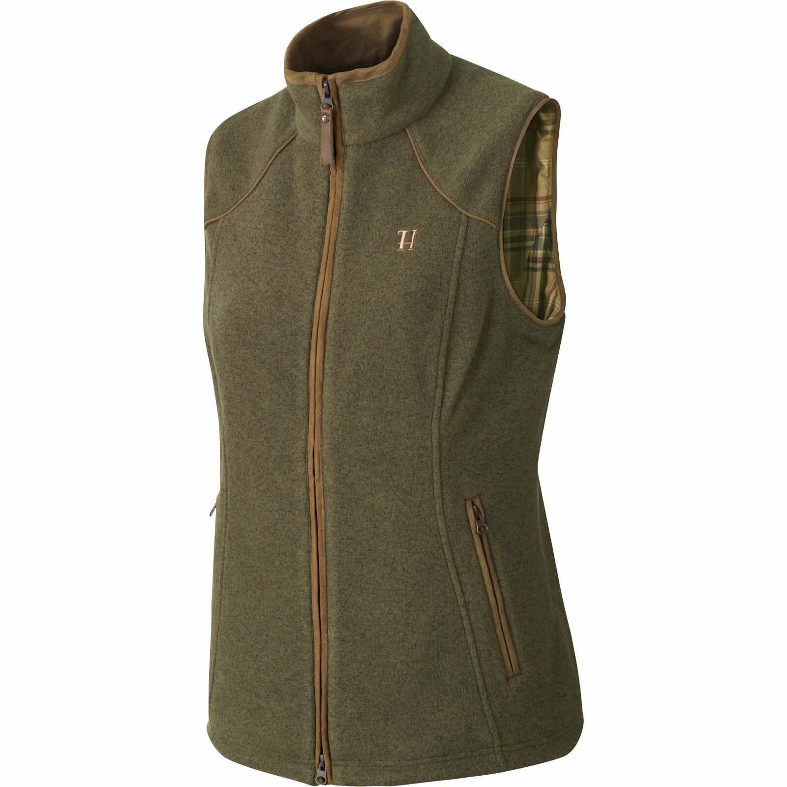 Harkila Ladies Sandhem Fleece Gilet - Dusty Lake Green