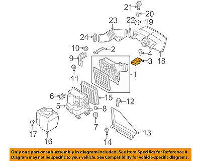 Genuine Subaru Air Mass Sensor 22680AA31A