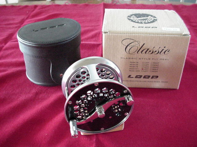 Loop Classic Fly Reel Model 5-8 GREAT nouveau