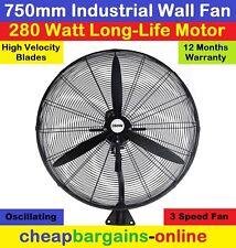 industrial wall fan 750mm 3 speed ebay