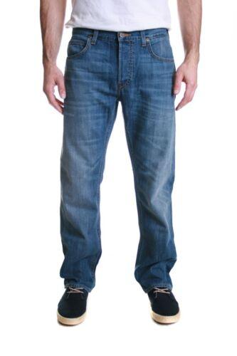 Lee Blake Jeans taglio dritto regolare in un oscuro indossato sciacquare vendita RRP £ 85 50/% di sconto