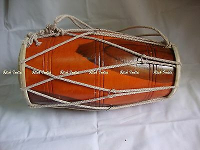 Other Musical Instruments Tireless Dholak Drum Rope Tuned Dholki Dhol Use In Bhajan Kirtan Yoga Bajan Customers First