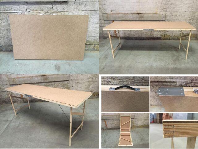 hardboard wallpaper folding pasting paste table foldable. Black Bedroom Furniture Sets. Home Design Ideas