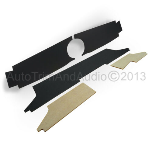 Classic Mini Dash Liner Kit Centre 1 Clock - Black Without Air-Vents
