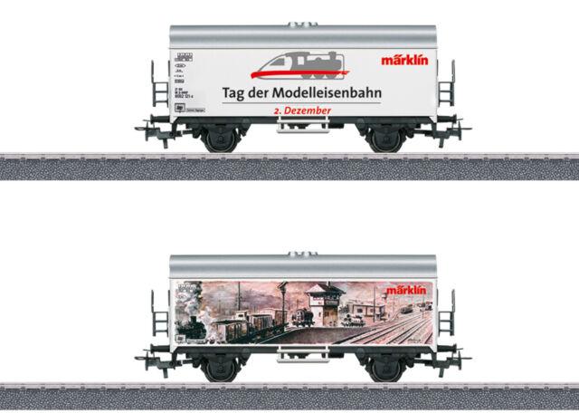 Tag der Modellbahn 2017 #NEU in OVP# Märklin 44230 Kühlwagen Int