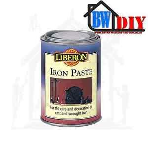 Detalles De Liberon Pasta De Hierro Plomo Grafito Fundido Negro Hierro Forjado Metal Batida Ver Título Original