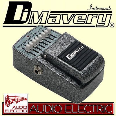 Dimavery EPEQ-70 Graphic Equalizer Pedal 7-Band EQ