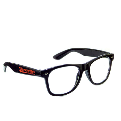 Jagermeister verre//verres lunettes Nerdbrille gastronomique bar deco NEUF