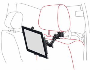 Ipad Halterung Auto Kopfstütze : ipad air mini galaxy tab note pro tablet pc kfz auto ~ Watch28wear.com Haus und Dekorationen