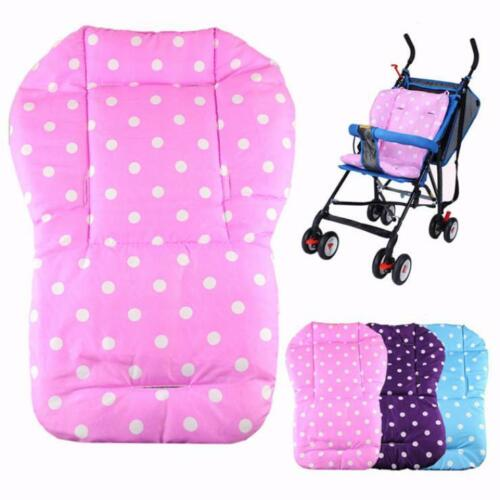 Newborn Baby Thick Stroller Soft Seat Cushion Liners Dots General Cotton Mat Pad