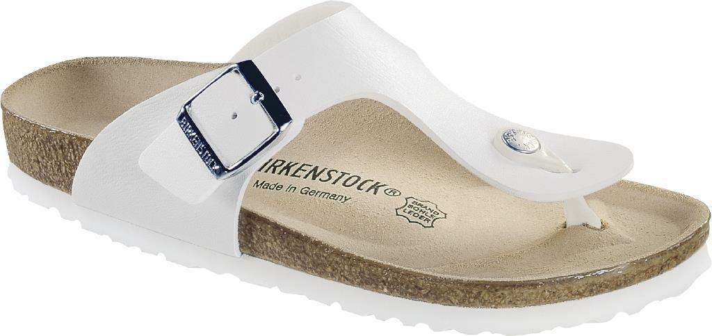 BIRKENSTOCK RAMSES WEISS Damens BIANCO CIABATTE INFRADITO UOMO Damens WEISS SANDALS THONGS d69092