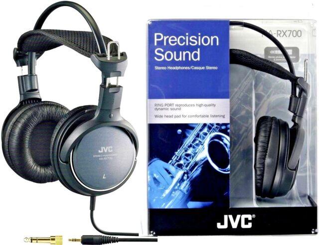JVC HA-RX700 FULL SIZE DEEP BASS STEREO OVER EAR HEADPHONES ORIGINAL/ BRAND NEW