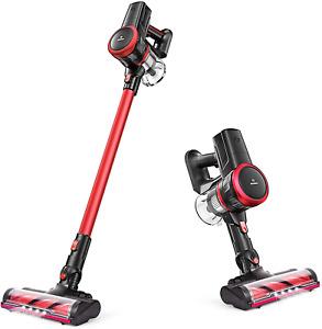 MOOSOO Cordless Vacuum Cleaner 17Kpa Suction 2 in 1 Stick Vacuum K17 Carpet Hot