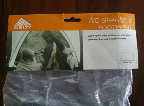 Details about  /Kelty RIO GRANDE 6 Footprint Black New