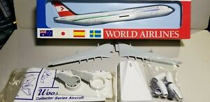 WOOSTER-W682-AUSTRIAN-AIRLINES-NC-A340-212-1-250-SCALE-PLASTIC-SNAPFIT-MODEL