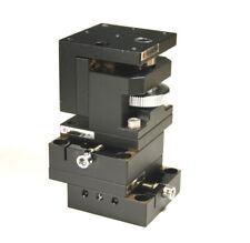 Optosigma Xyz Dovetail Stage Brass 6 32 40x40mm