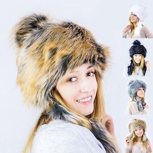 beliebt kaufen Ausverkauf Laufschuhe Details zu FELLMÜTZE STRICKMÜTZE Mongolische Mütze Bommel Fell Wintermütze  Pelzmütze Pelz