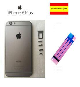 CHASIS-IPHONE-6-PLUS-CARCASA-MARCO-TAPA-TRASERA-APPLE-GREY-GRIS-ESPACIAL