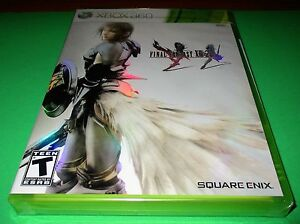 Details about Final Fantasy XIII-2 Microsoft Xbox 360 *Factory Sealed!  *Free Shipping!