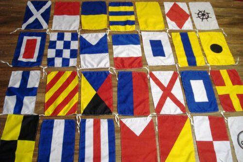 Flag SET Naval Signal Flags Marine Code Set of Total 26 flag Total 28 Flag