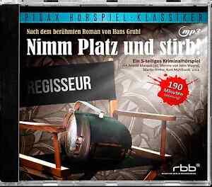Nimm-Platz-und-stirb-CD-Hoerspiel-Krimi-MP3-CD-Hans-Gruhl-Pidax-Neu-Ovp
